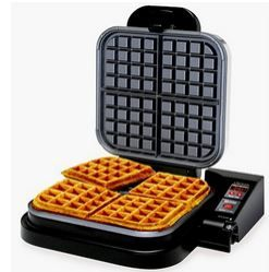 Chef's Choice M850 Taste-Texture Select WafflePro Belgian Waffle Maker; lowest price ever, special features for hassle free baking experience!