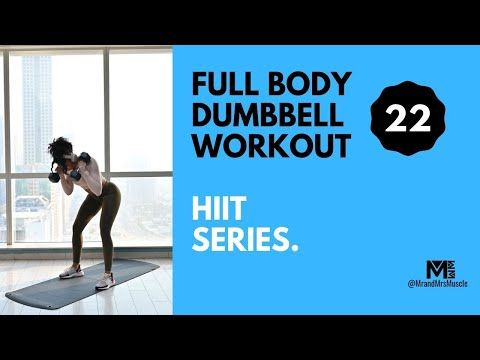no 22  full body dumbbell workout  modifications