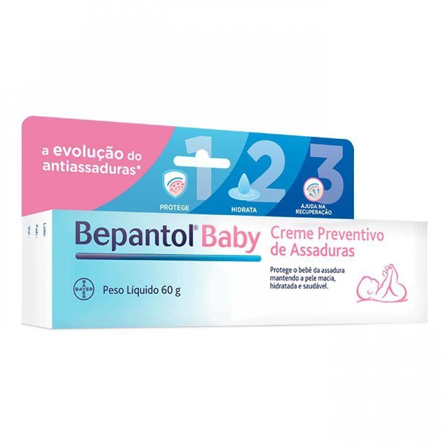 Bepantol Baby Creme Preventivo De Assaduras 60g Assadura Pomada