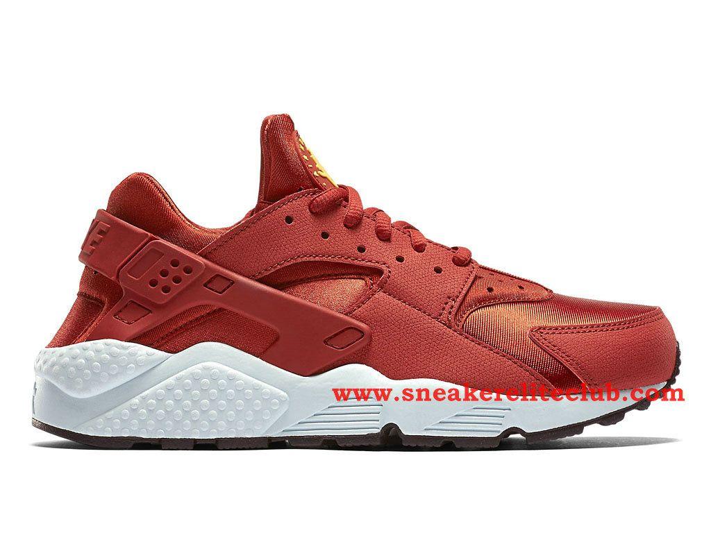 Nike Air Huarache Femme Rouge