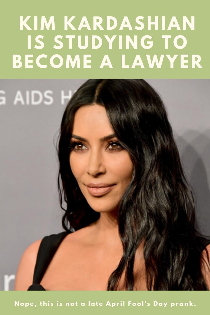 Kim Kardashian Is Studying To Become A Lawyer Kim Kardashian Kardashian Celebrity Gossip