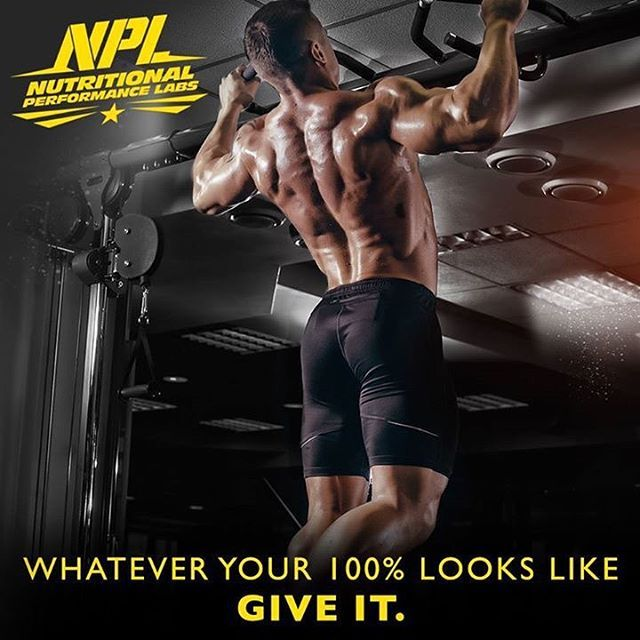 Whatever your 100% looks like, give it. #NPL