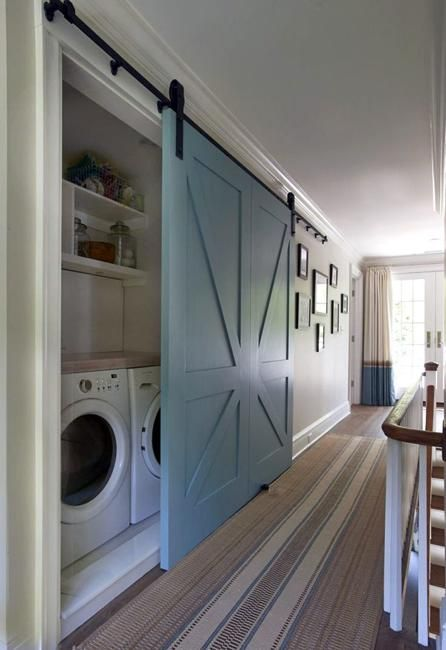 20 Space Saving Ideas For Functional Small Laundry Room Design Home Dream House House Design