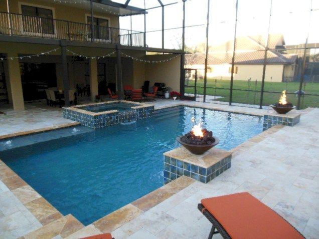 70 Inspiring Geometric Pool Designs Ideas   Pool designs