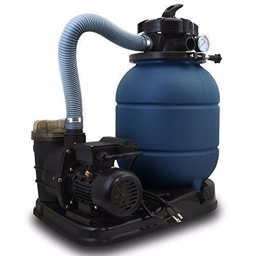 Above Ground Pro 2400gph Swimming Pool Pump 3 4 Hp Gph 13 Sand Filter Swimming Pools Pool Pump Pool