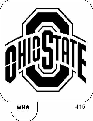 ohio state logo stencil free - Google Search | stencils ...
