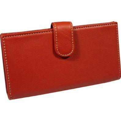 Mundi  Rio Leather Checkbook Cover Wallet,Red,one size Mundi. $16.99. Save 43% Off!