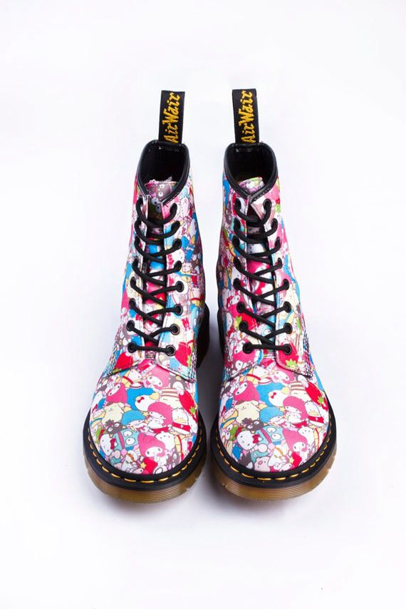 Hello kitty dr. Martens
