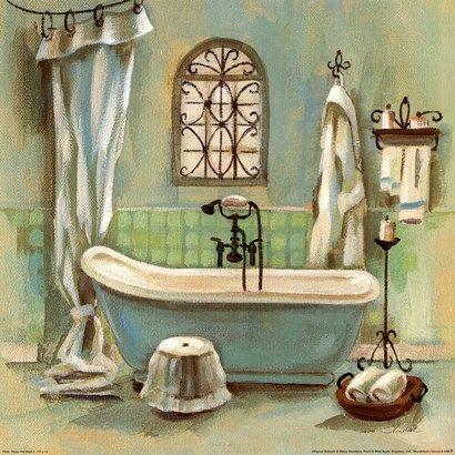 Pin de Varinia de Letona en laminas | Cuadros para baños ...