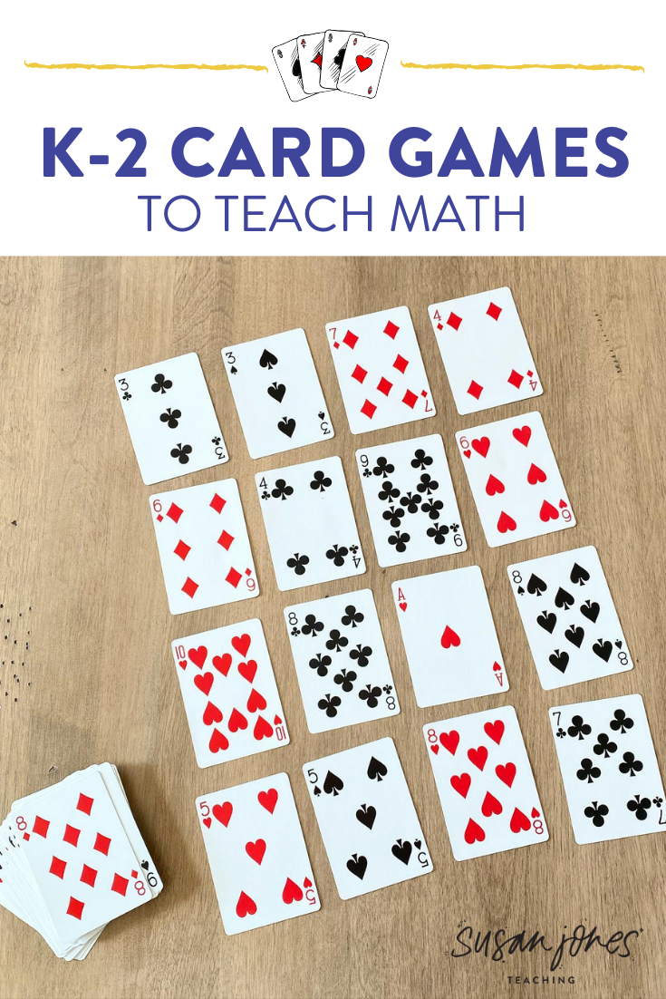 Math Card Games for Kids! - Susan Jones