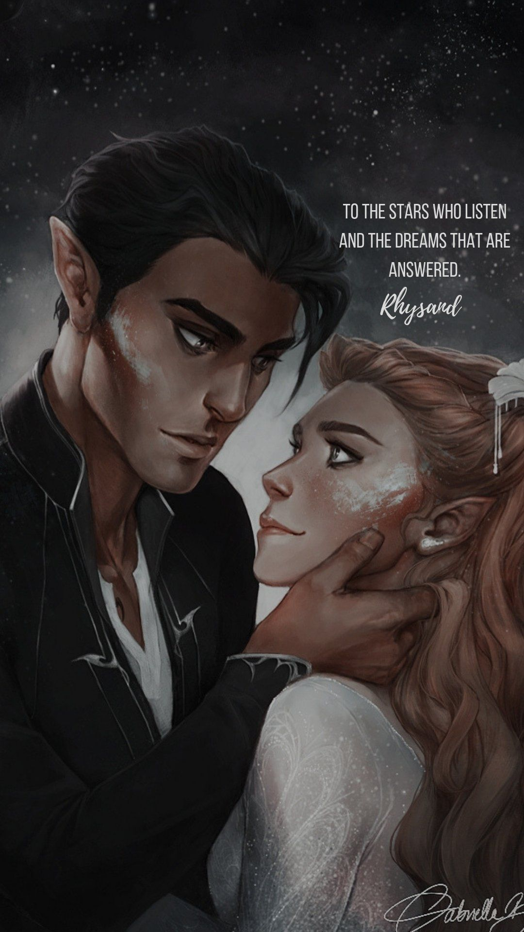 Feyre And Rhysand A Court Of Mist And Fury Sarah J Maas Books