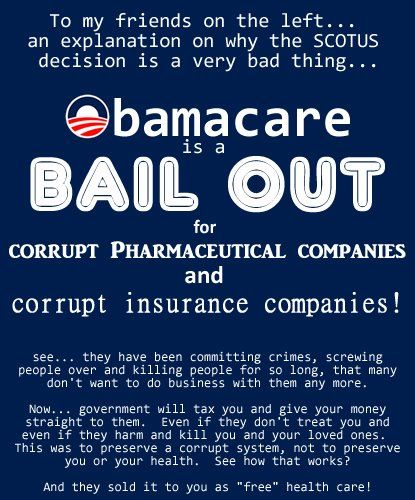 It S Funny How The Left Calls Obamacare Caring Because It Insures Poor People They Don T Get Medical Insurance Big Pharma Health Insurance Policies