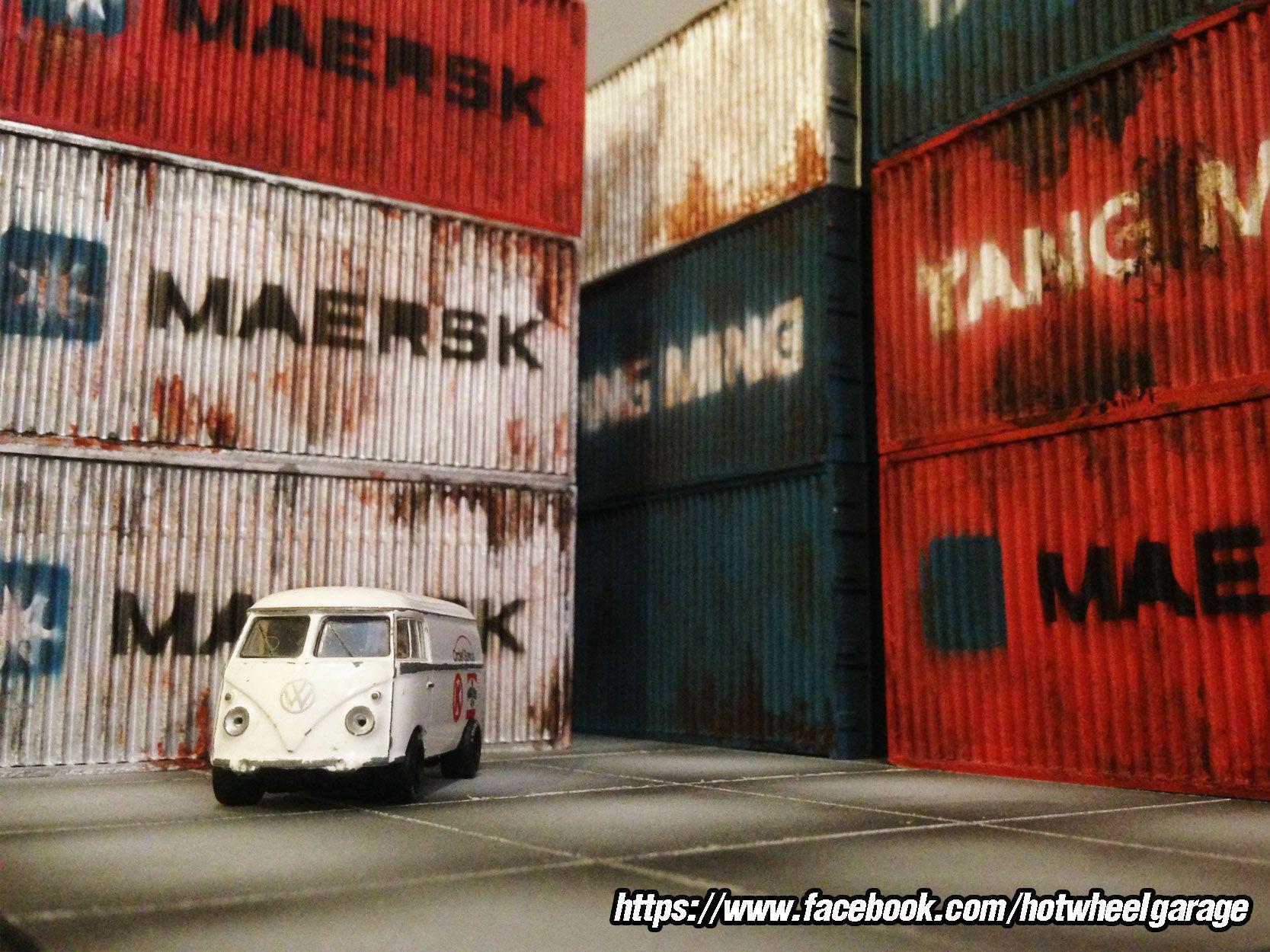 Diorama : Container Dust