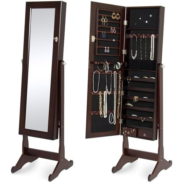 40+ Best choice products mirrored jewelry cabinet armoire viral