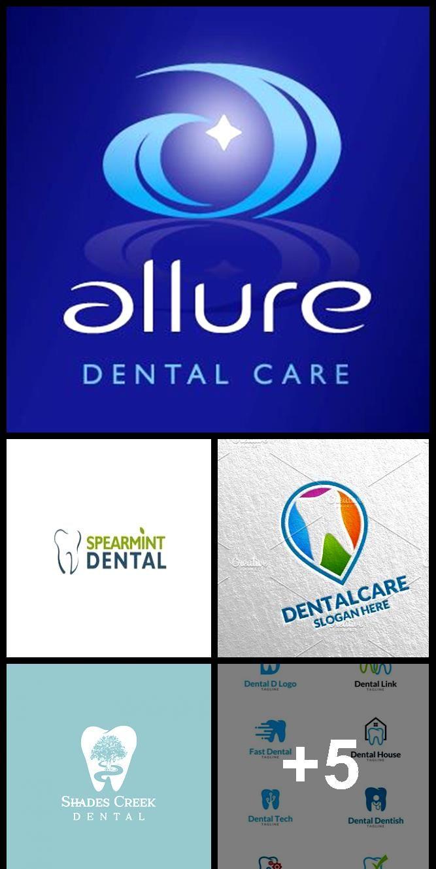 Dental logo design for Allure Dental Care a dentist in Barnet, Herts. By Design4 ... #dentallogo