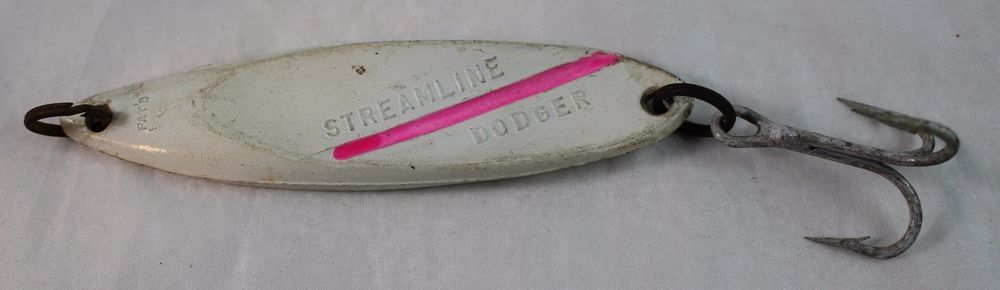 VINTAGE STREAMLINE DODGER FISHING LURE JIG  #streamlinedodger