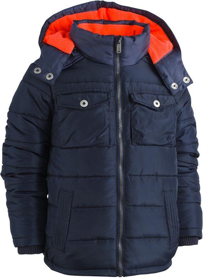 23400ece517a Tommy Hilfiger Alexander Hooded Puffer Coat