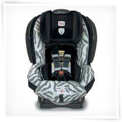 Britax Advocate 70-G3 Convertible Car Seat - Zebra
