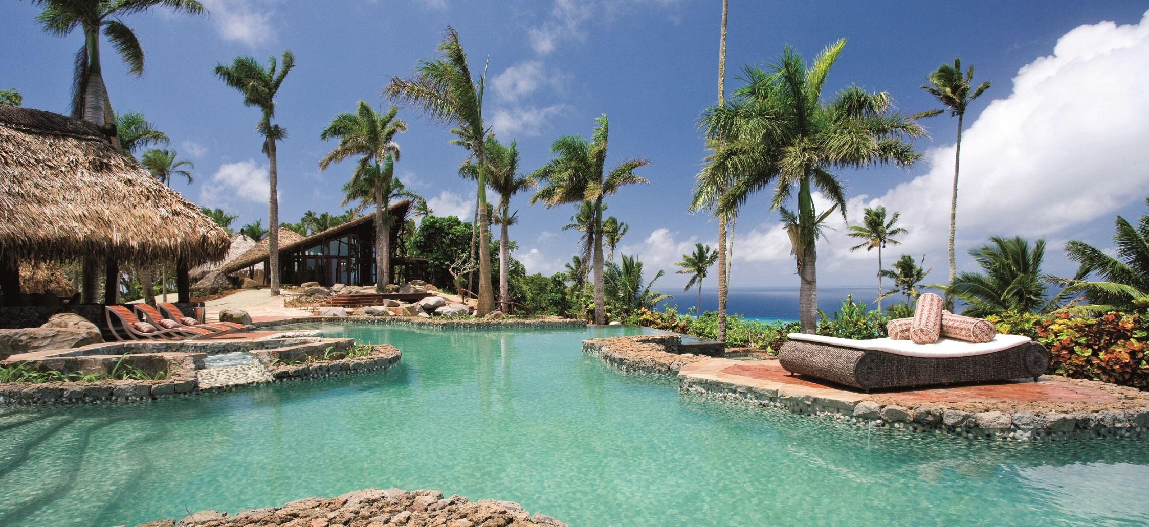 Laucala is rated among the top three luxury island resorts in the world