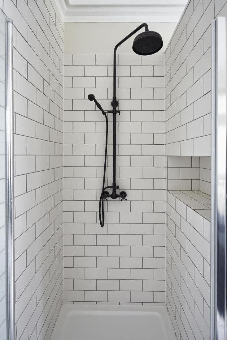 Decordemon The Blog A Daily Dose Of Stunning Interiors Inspiration Boards And Design Shower Fixtures Industrial Showers Black Shower