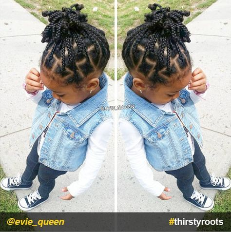 20 Cute Natural Hairstyles For Little Girls Girls