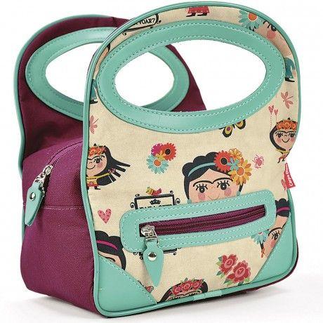 Mini Bolsa Térmica Frida Carpe Diem http://www.loopday.com.br/frida