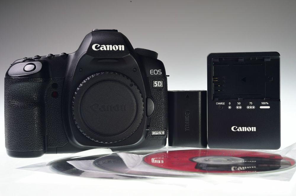 Canon Eos 5d Mark Ii 21 1mp Digital Camera Body Shutter Count 28856 Excellent Canon