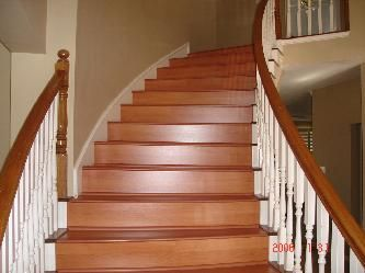 wood laminate stairs Home Pinterest Laminate stairs and Wood
