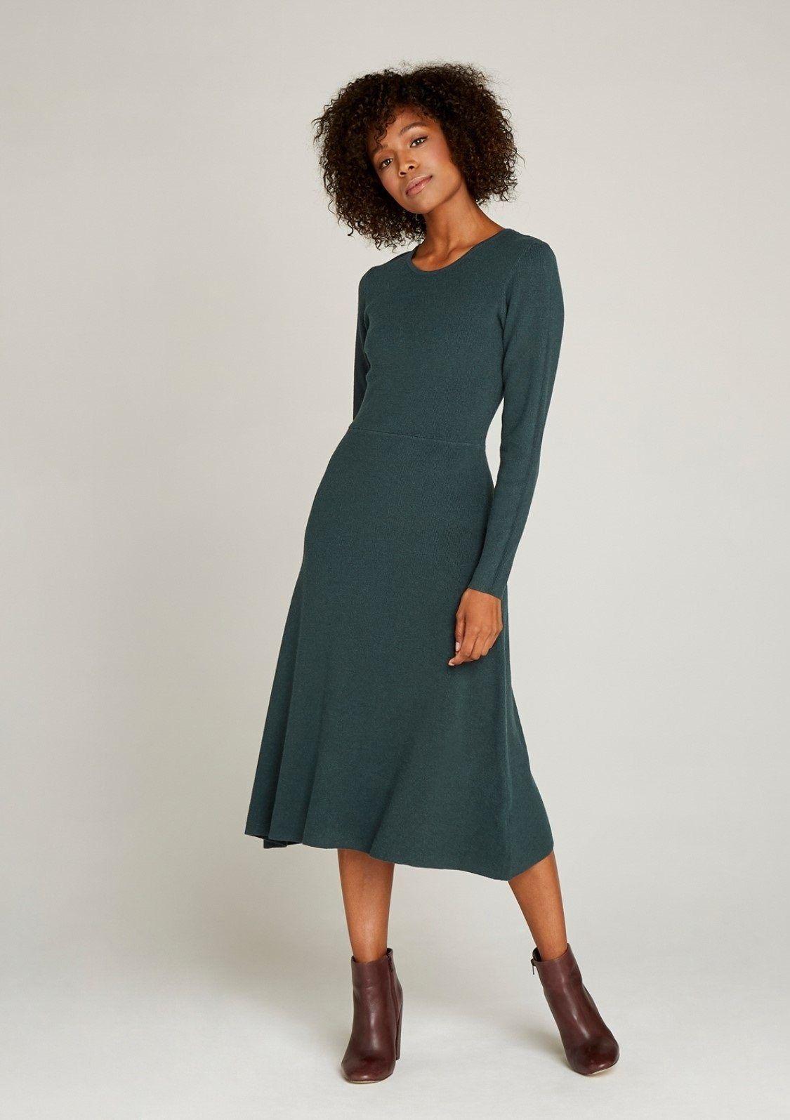 OTTO #Bekleidung #Kleider #Damen #Apricot #Strickkleid #Plain #10s