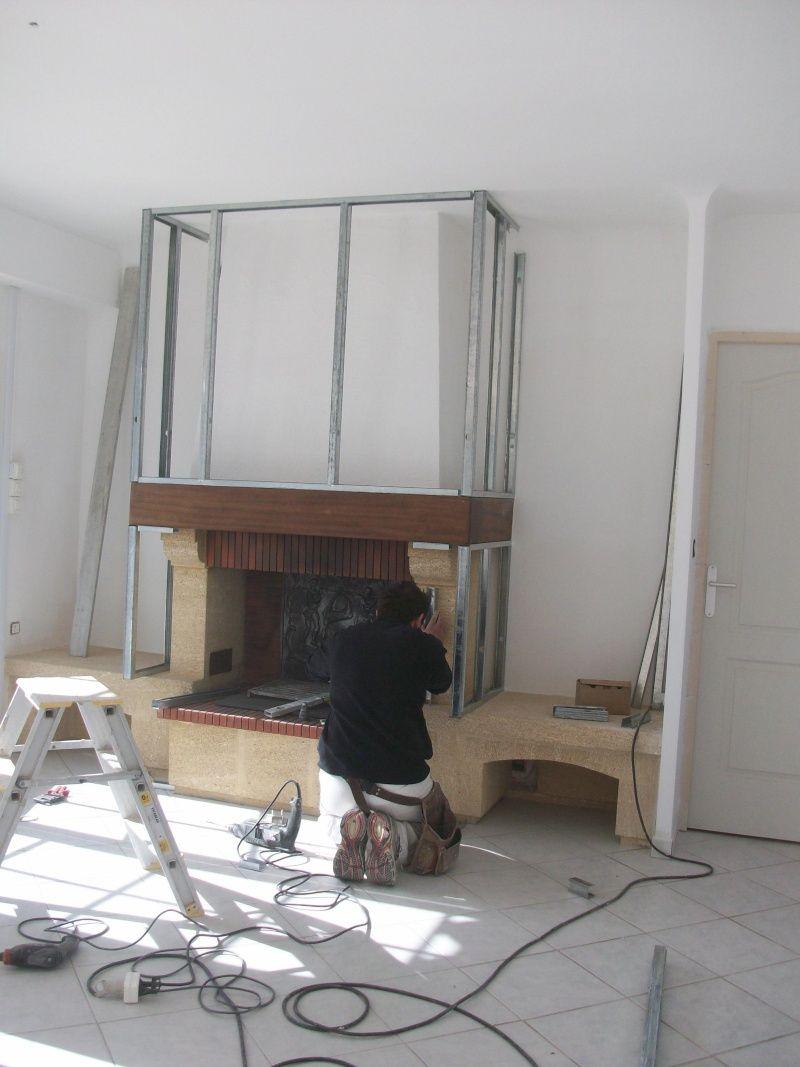 cheminée en granit un peu vieillotte !!!! | salons, foyers and