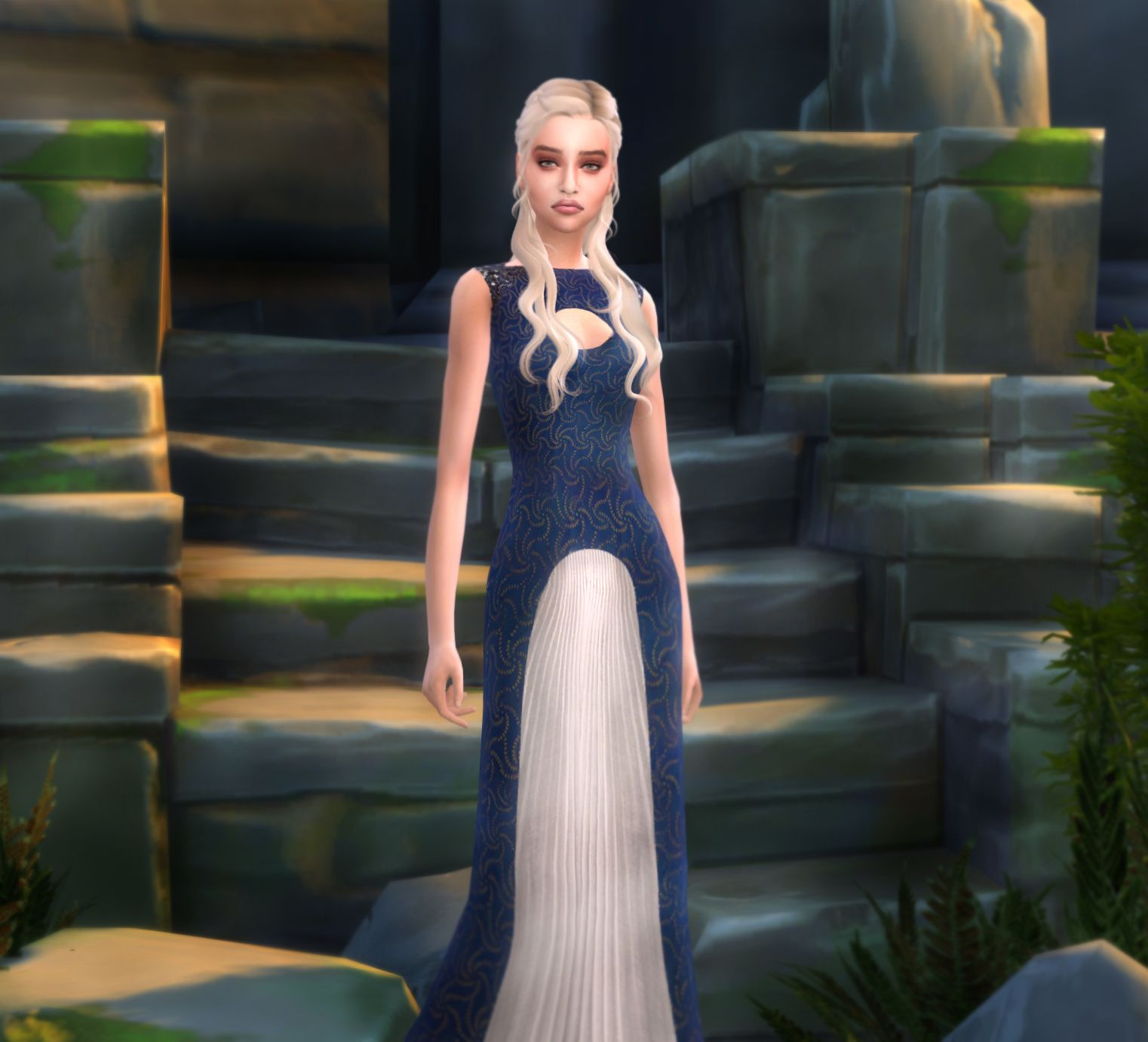Daenerys Targaryen Sims 4. Daenerys Makeup And Dress By