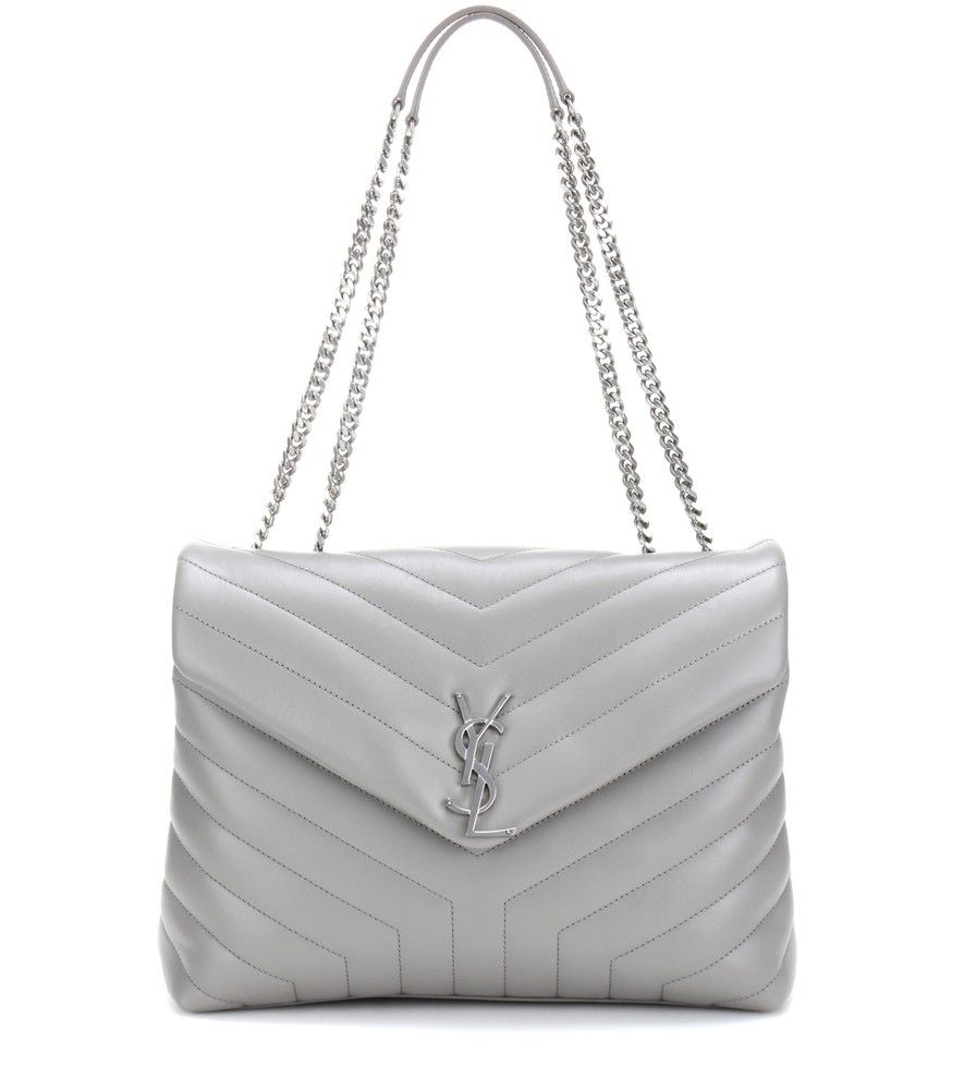 96e7f0d4d0 Saint Laurent - Loulou Medium quilted leather shoulder bag - Saint Laurent  strikes the right note of slouchy sexy with the Loulou Medium shoulder bag.