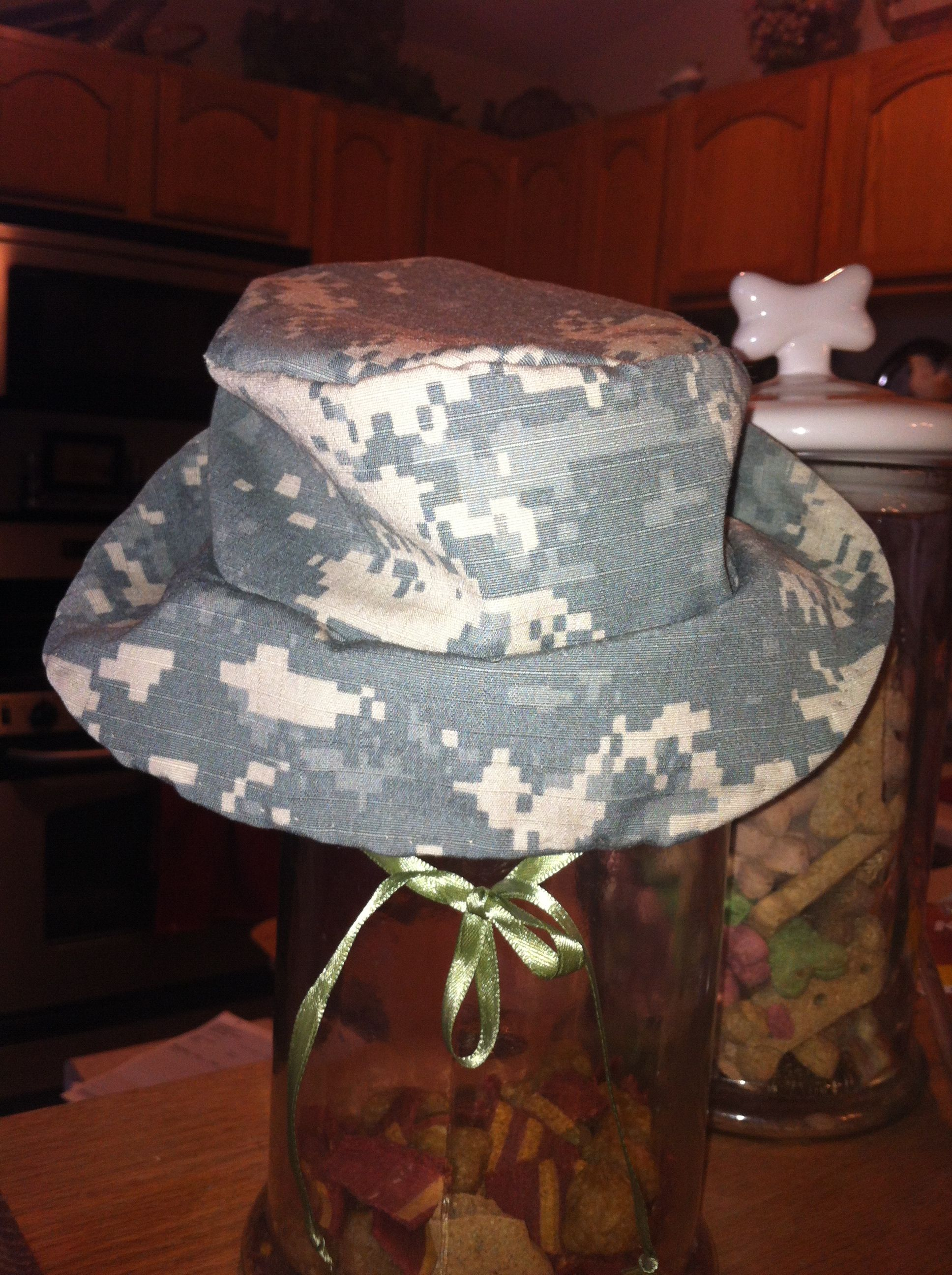 baby army boonie hat