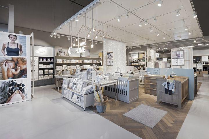Mamas Papas Store By Dalziel Pow Glasgow Uk Retail Design Blog Store Counter Design Mamas And Papas Store Layout