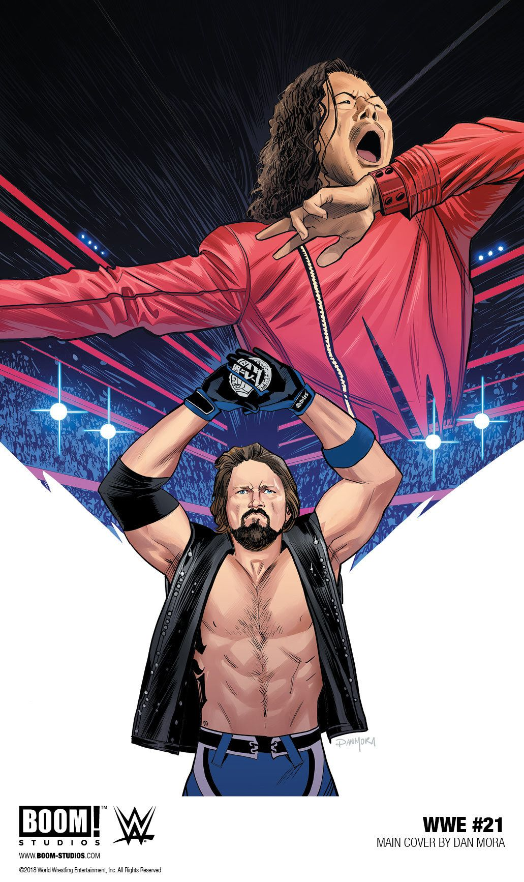 Press Release Wwe Superstar The Phenomenal One Aj Styles To Be Featured In Wwe 21 Https Comicbastard Wwe Superstars Wwe Logo Wwe Superstar Roman Reigns