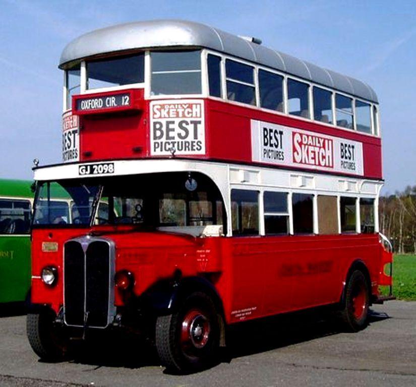 1930 A E C Regent 1 St922 Double Decker Bus Bus London Bus Bus Coach