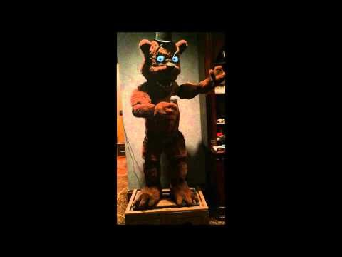 Real Life Five Nights At Freddy S Animatronic Is Not Cool Man
