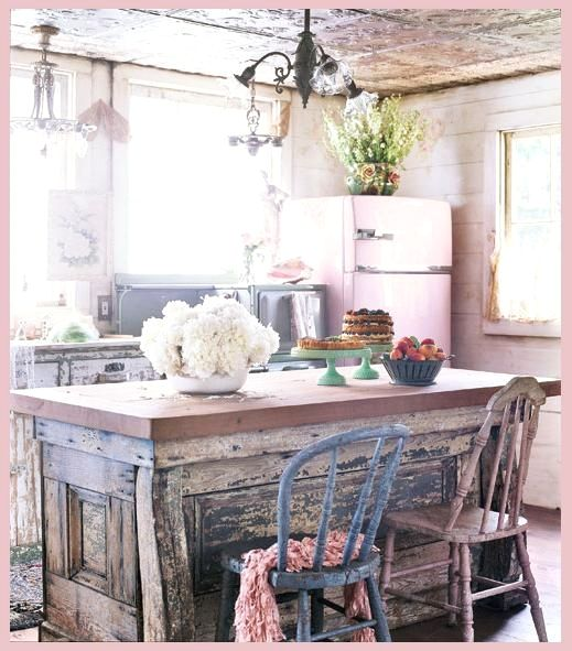 29 Beautiful Shabby Chic Style Kitchen Projects You Can Do Yourself