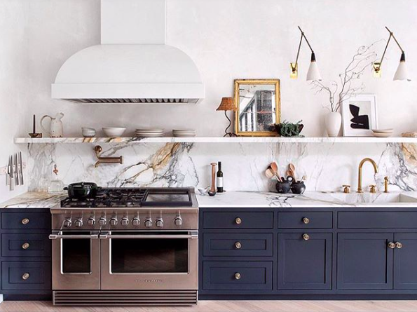 The most beautiful kitchen on instagram kitchen - The most beautiful kitchen designs ...