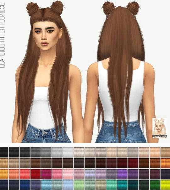 coiffure macaron pour sims 4 sims4downloads Sims 4