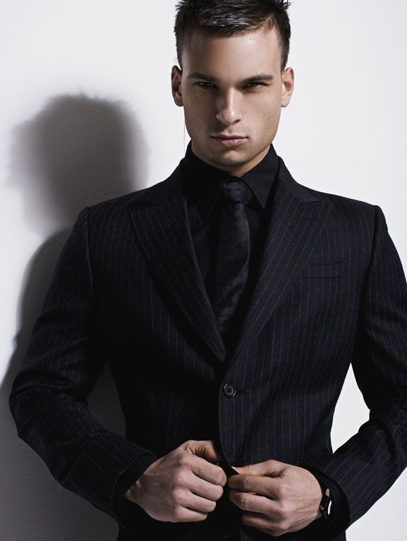 ClassActTuxedo1@aol.com | 14 Men | Pinterest | Black pinstripe ...