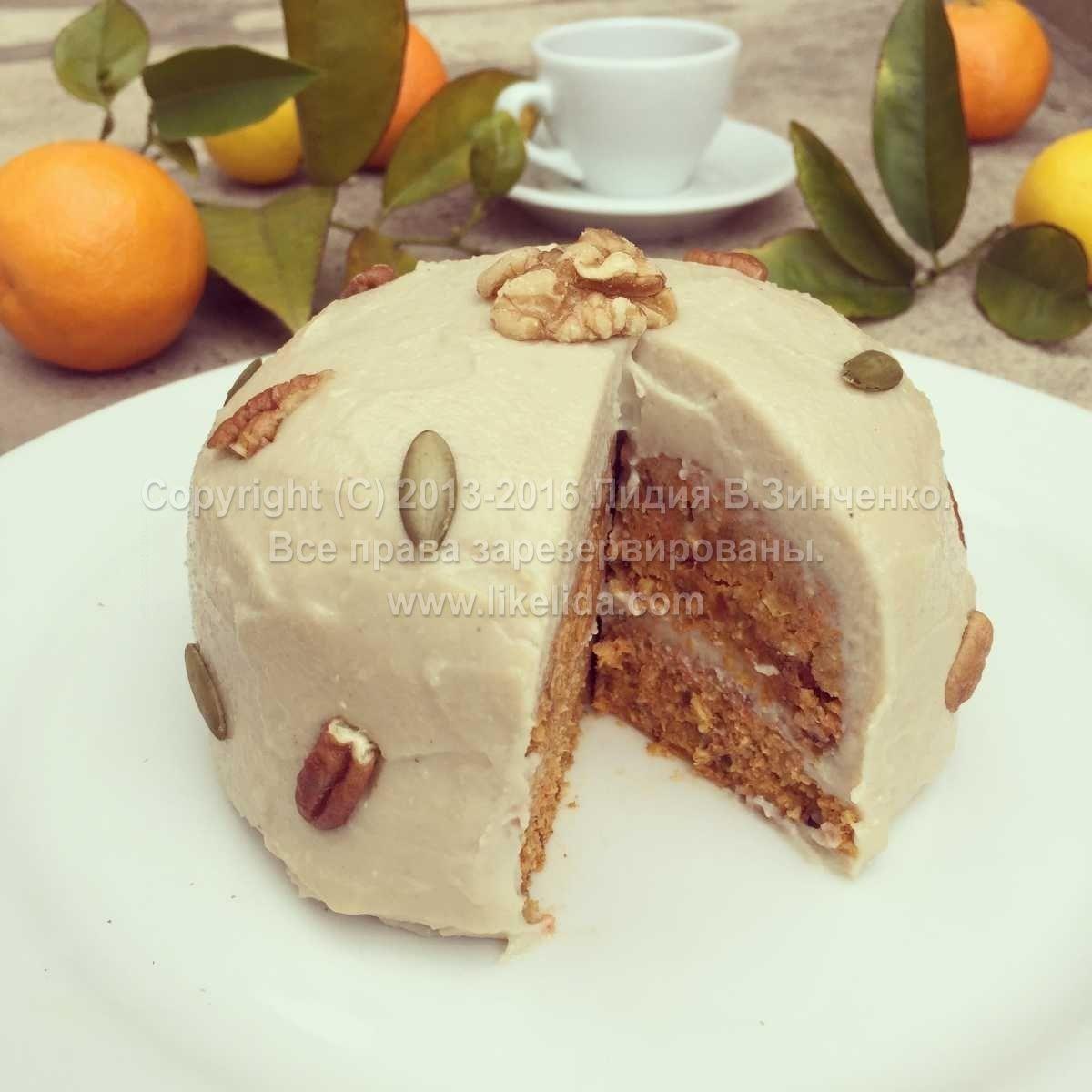 Торт для сыроедов
