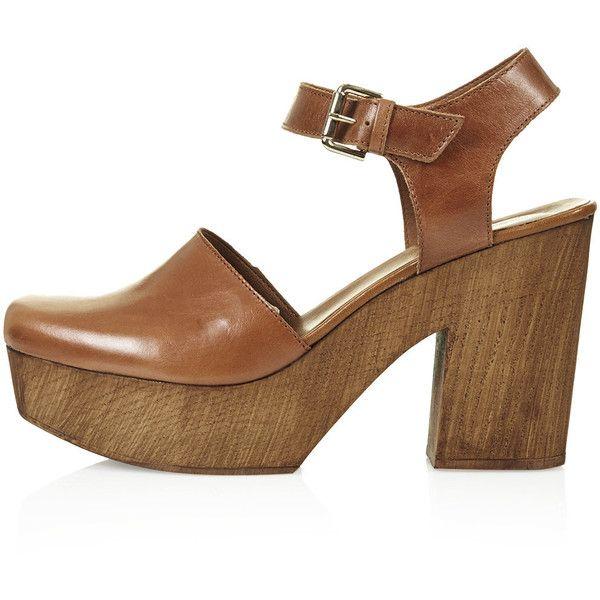 Platform clogs shoes