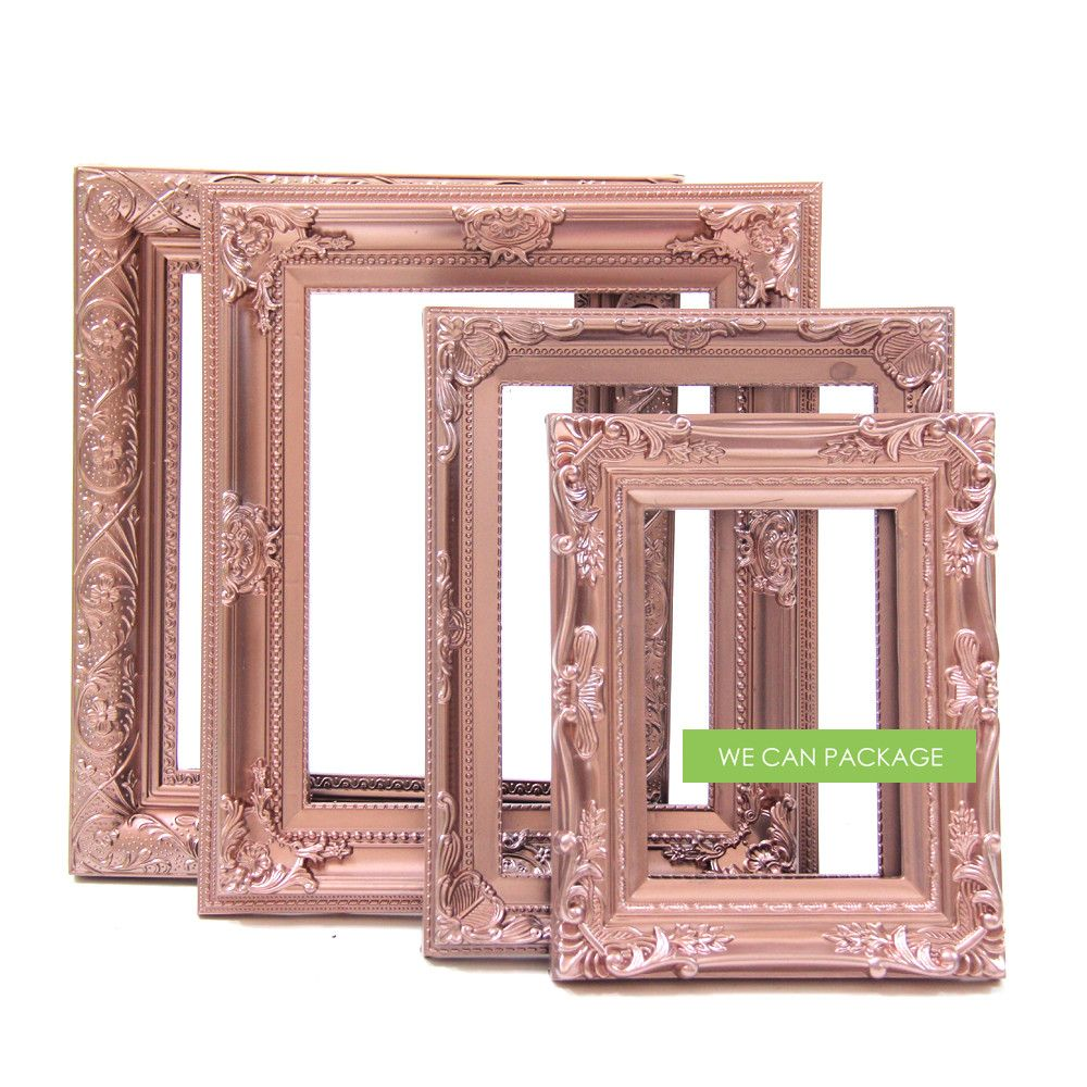 Rose Gold Baroque Picture Frame | ALL BOUT BRIDAL SHOWER IDEAS ...