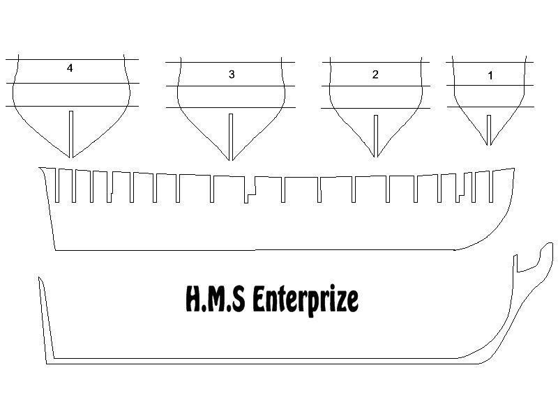 plans HMS Enterprise,free HMS Enterprise plans, free drawings HMS Enterprise,free blueprints HMS ...