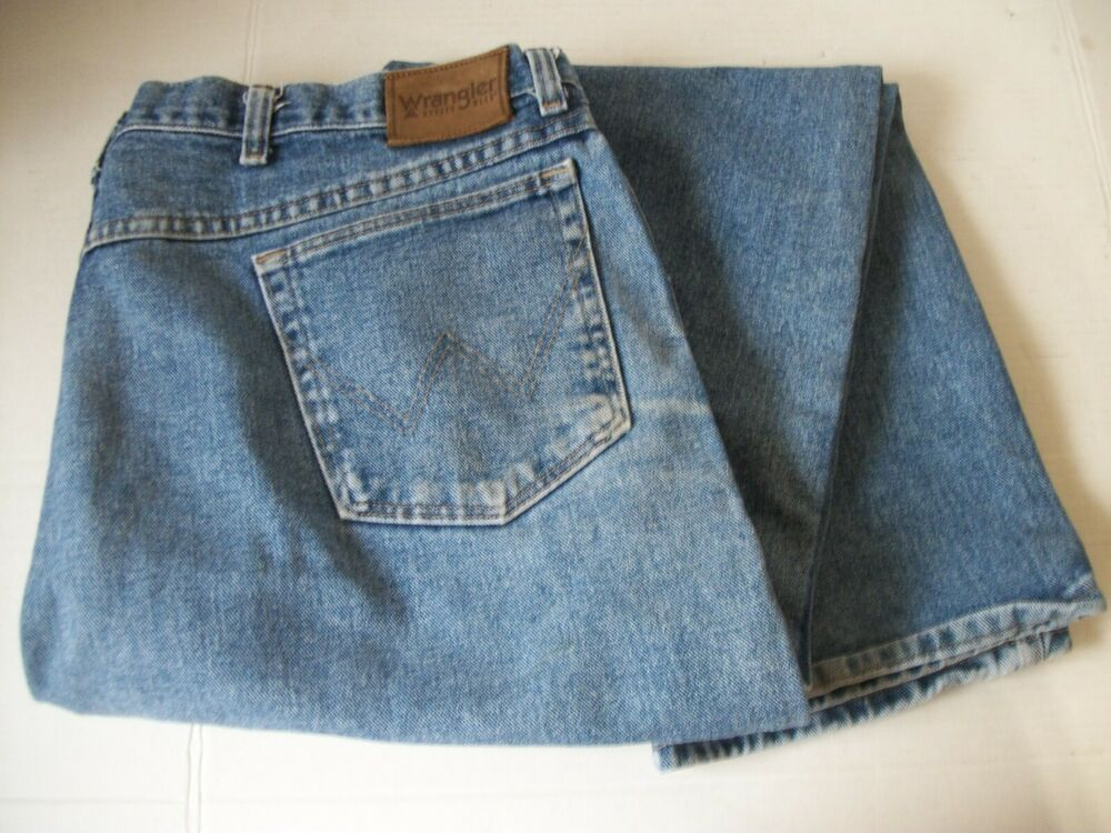 Details about wrangler mens rugged wear relaxedfit jeans