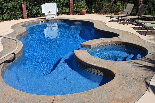 Viking Laguna Deluxe Backyard Pool Indoor Outdoor Pool