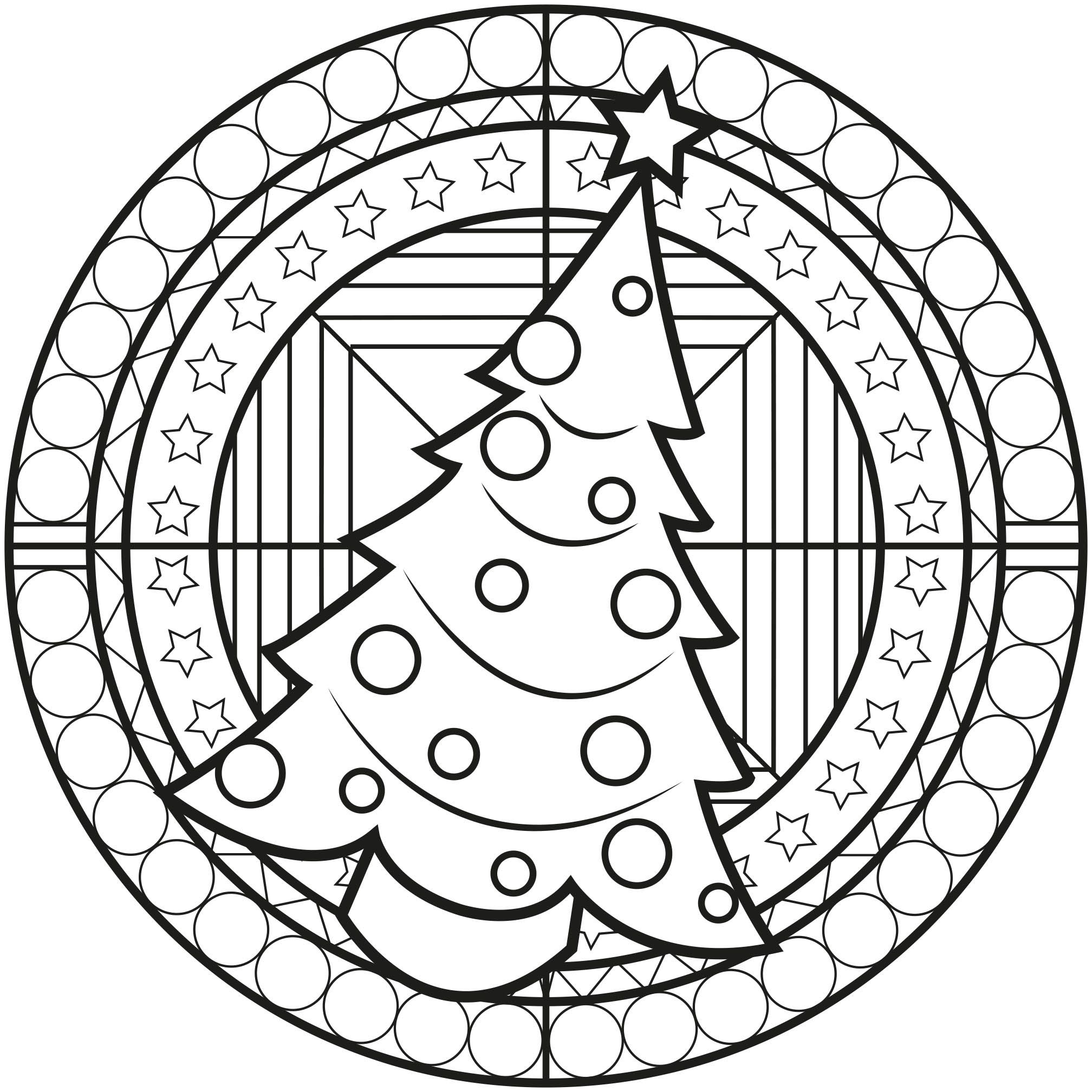 Christmas Is Coming Get In The Ambiance With This Christmas Mandala From The Gallery Man Christmas Coloring Pages Christmas Mandala Mandala Coloring Pages