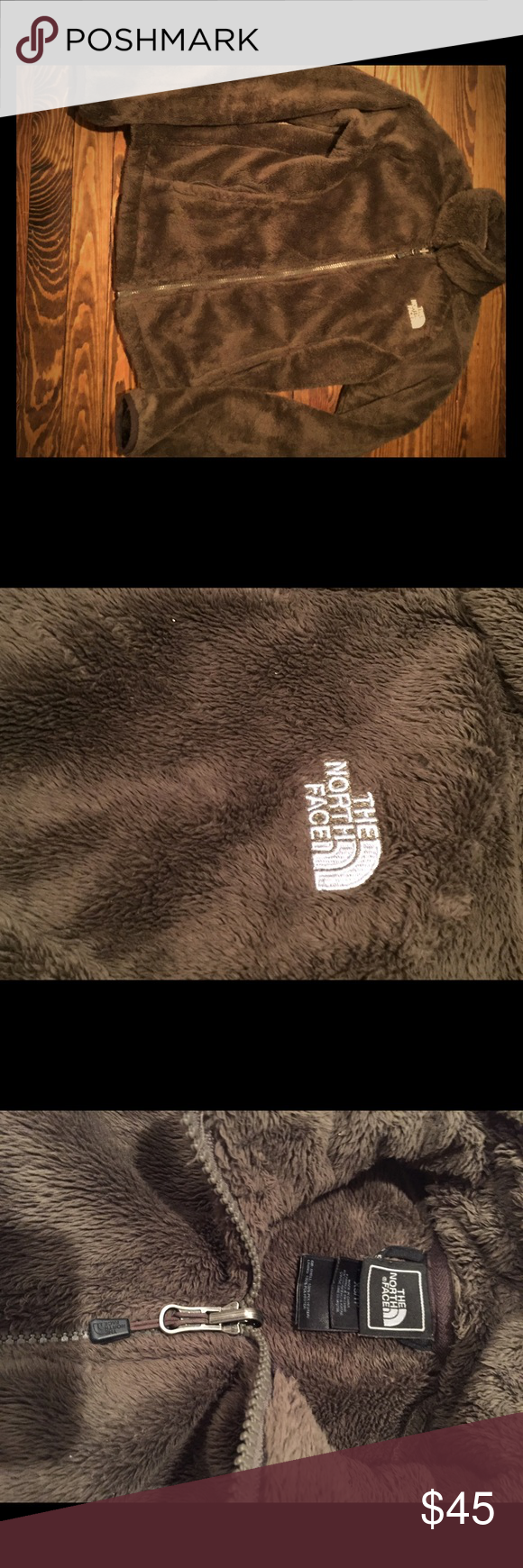 North Face brown jacket Soft, brown North Face. Great condition The North Face Jackets & Coats