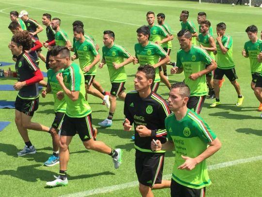 Copa Oro training